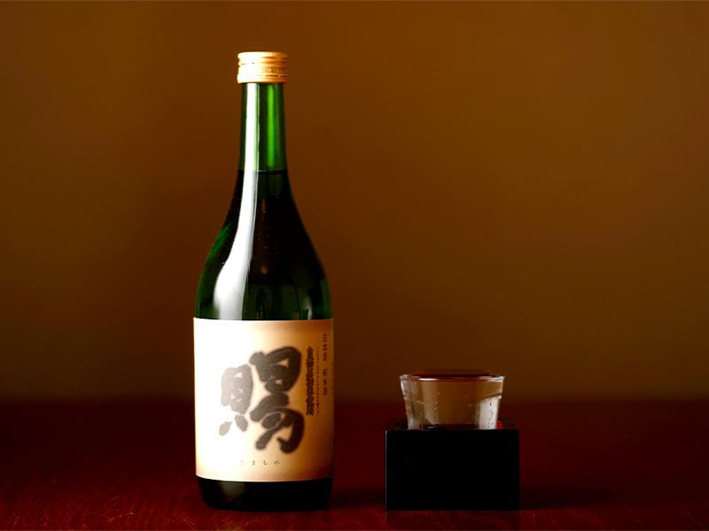 「馬力」をモチーフにした地元米「華吹雪」で醸した純米酒。